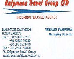 KALYMNOS TRAVEL GROUP LTD